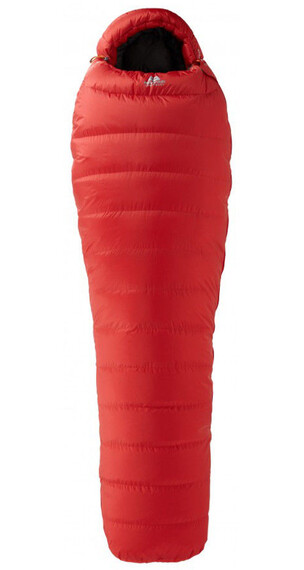 Mountain Equipment Glacier SL 400 XL Sleeping Bag Imperial red
